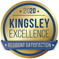 Kingsley Excellence Award for 2020
