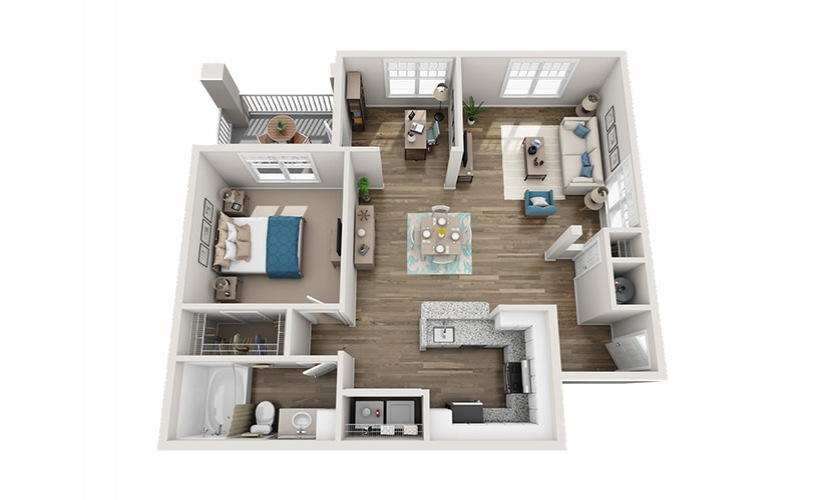 Available One Two Or Three Bedroom Apartments In Arden Nc Reserve At Biltmore Park